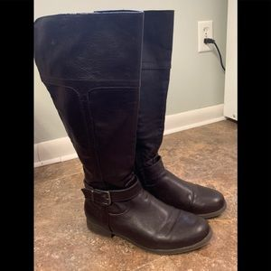 Croft and Barrow Woman's 9M Brown Riding Boots